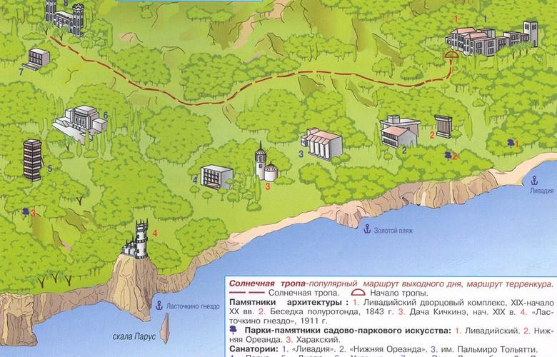 Отдых в Крыму. Солнечная тропа