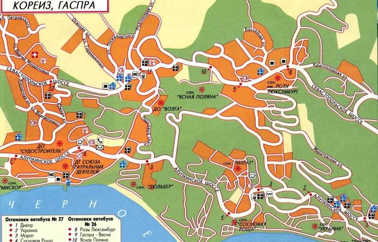 Отдых в Крыму. Кореизский Юсуповский дворец и другие виллы