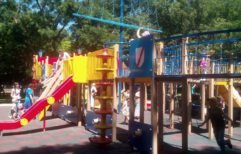 Отдых в Крыму. Детский парк в Симферополе