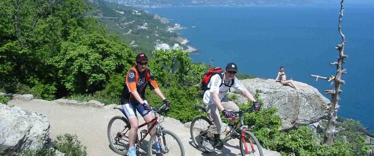 Пешком и на велосипеде: Ялта и горы, Массандра - Никита, Ливадия - Мисхор
