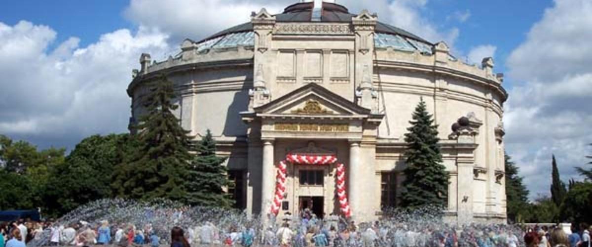 Отдых в Крыму. Исторический бульвар в Севастополе